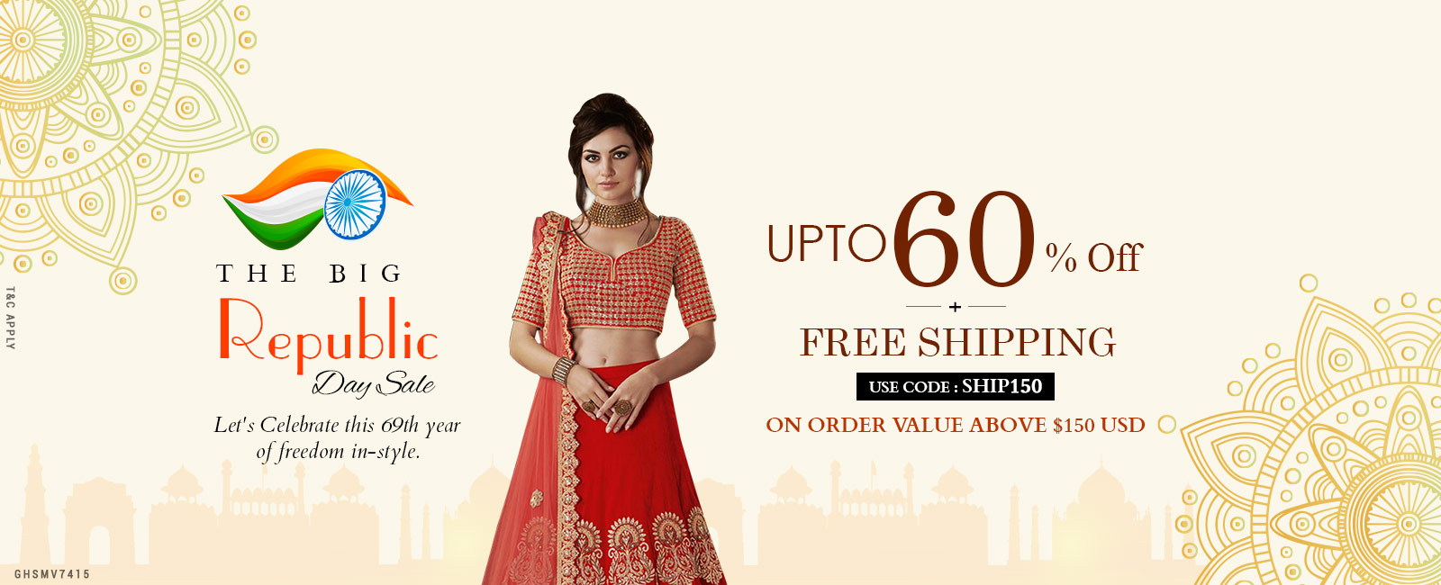 Upto 60% Off + Free Shipping