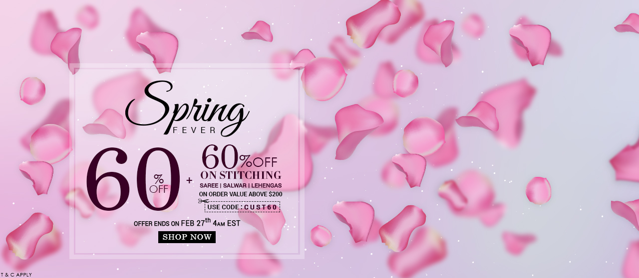 60% Off + 60% Off On Stiching