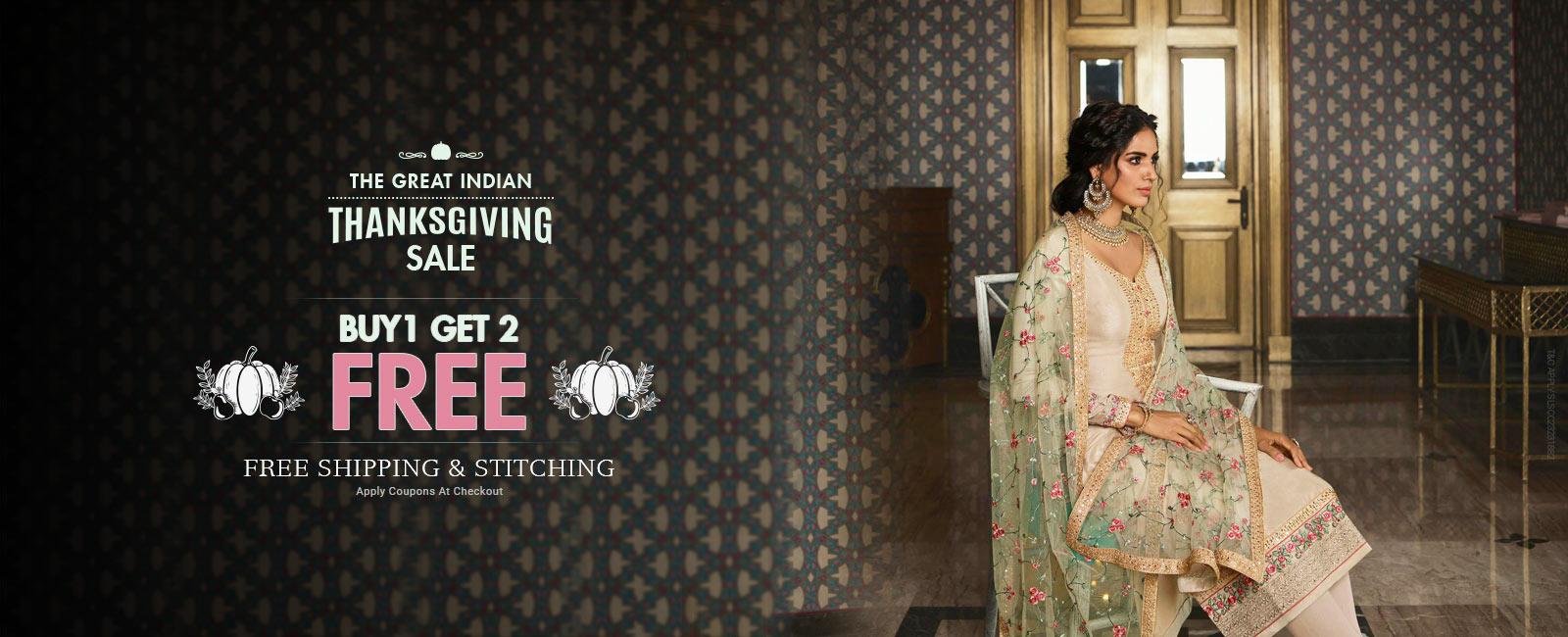 Buy 1 Get 2 Free + Free shipping & stitching