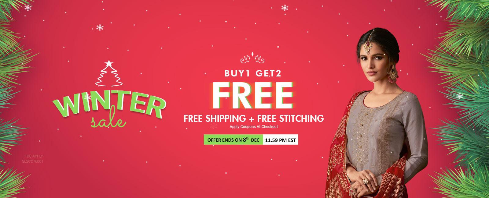 Buy 1 Get 2 Free+ Free Shipping+Free Stitching