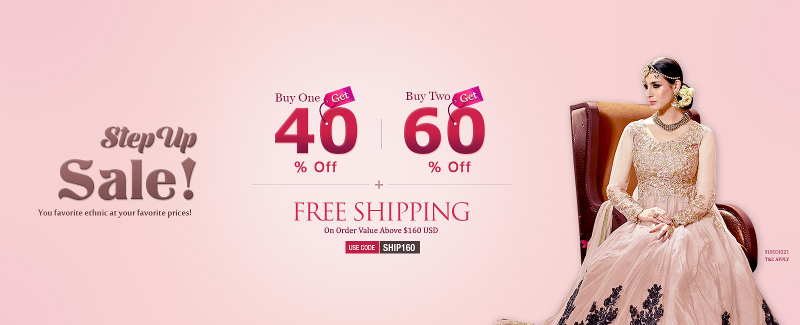 Buy one and Get one Free+ Extra 15% Off