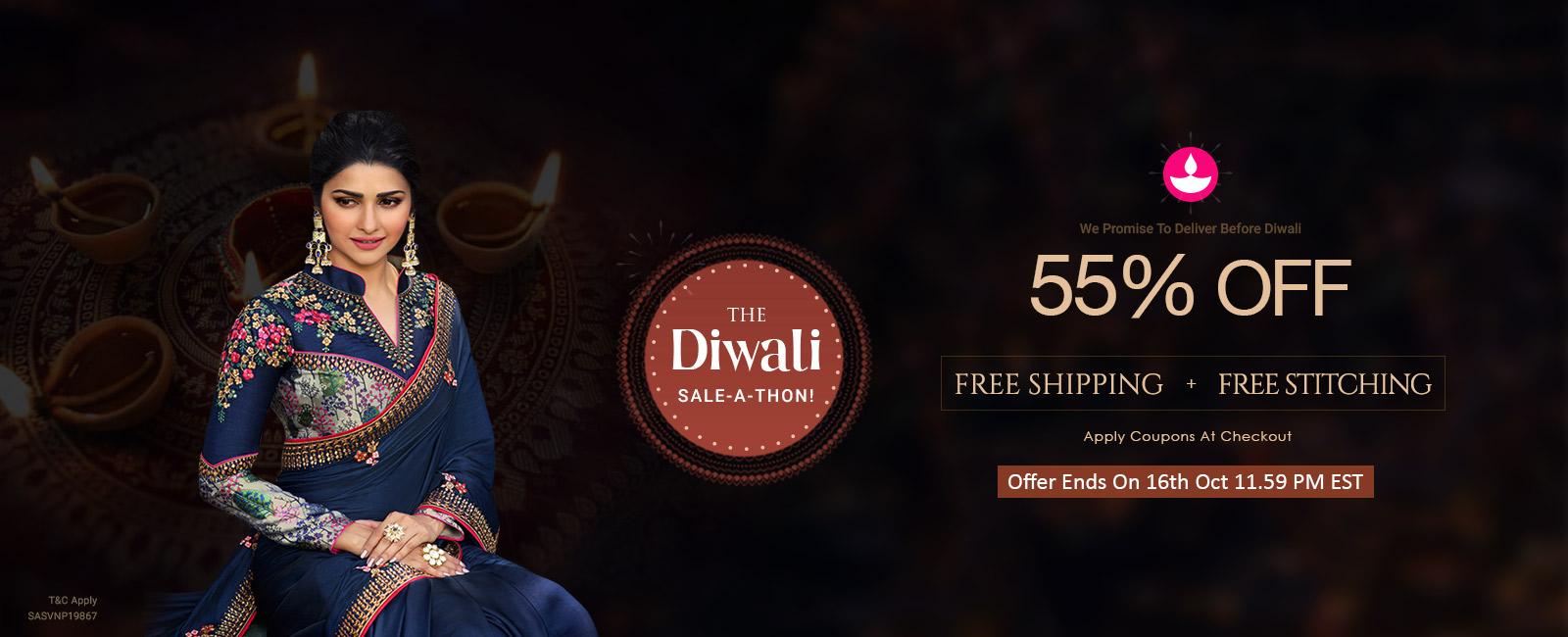 55% Off + Free Shipping+ Free Stitching