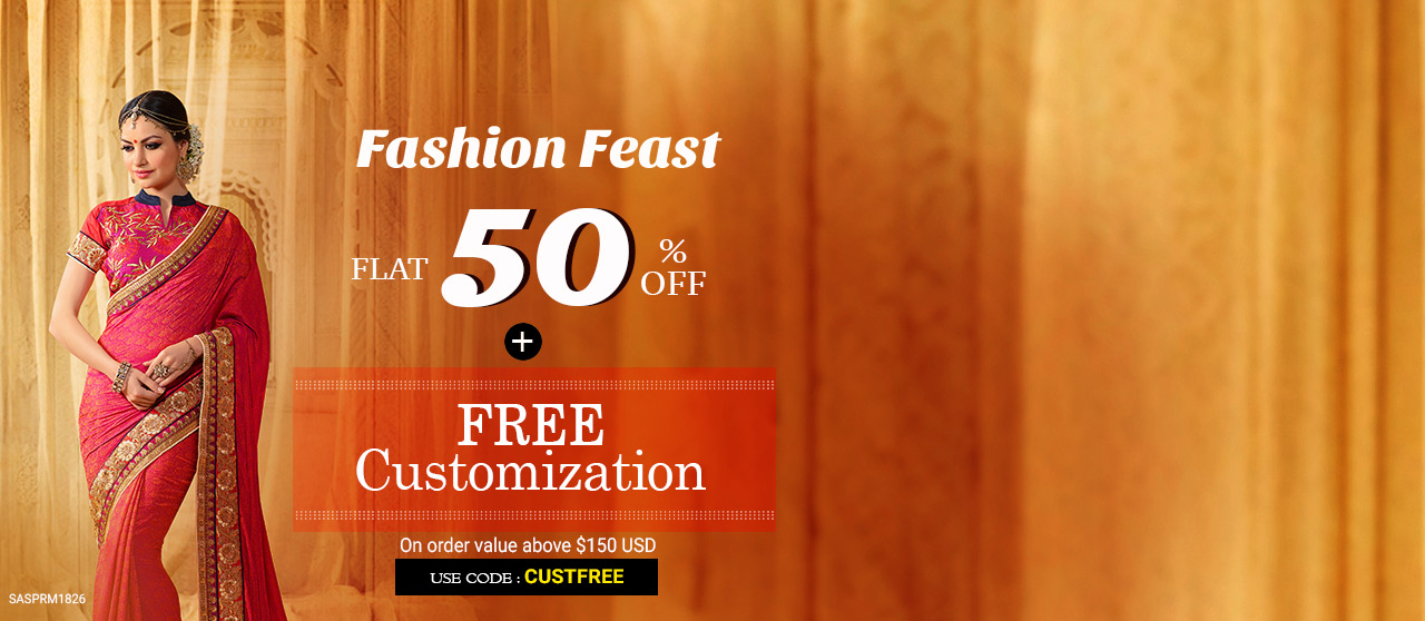 50% Off + Free Customization