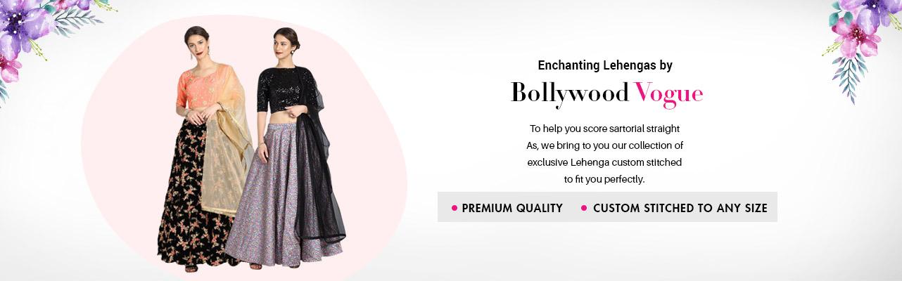 Bollywood Vogue Lehengas
