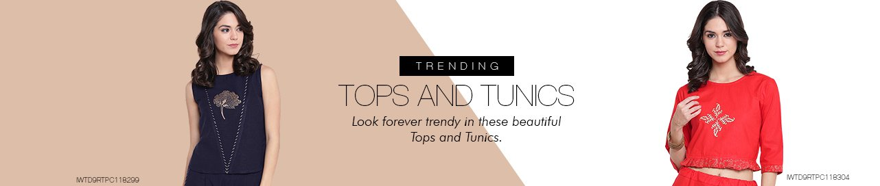 Tops and Tunics