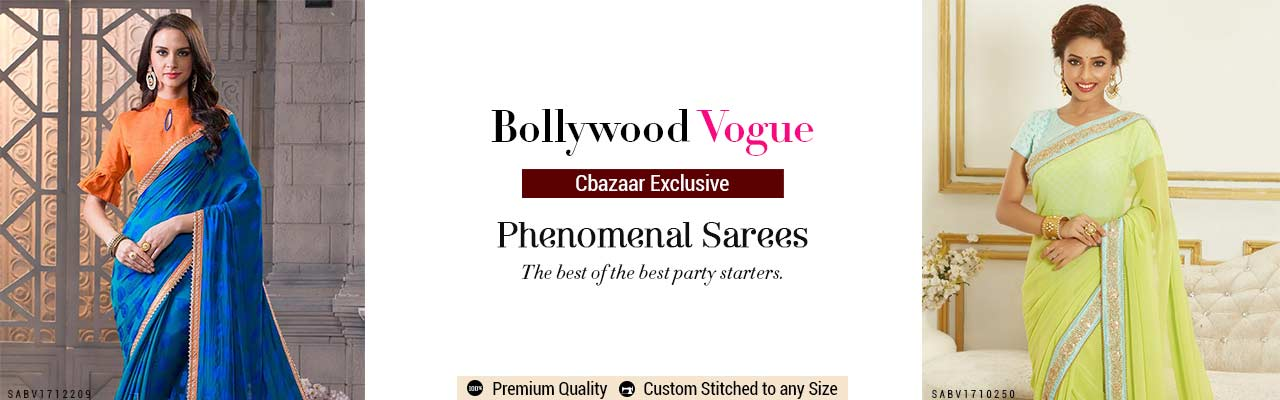 Bollywood Vogue Saree