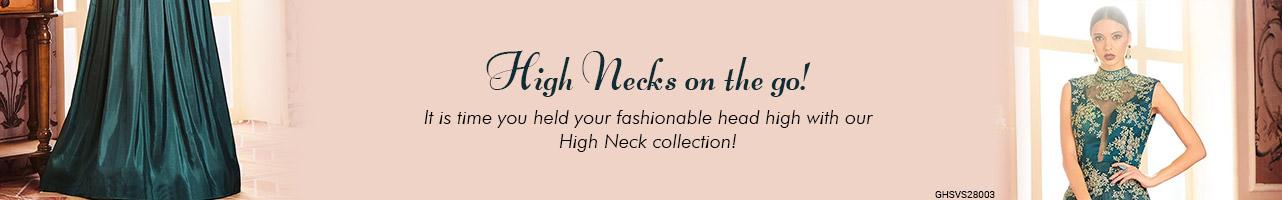 High Neck Styles