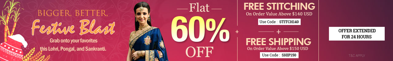 Flat 60% Off + Free Customization + Free Shipping
