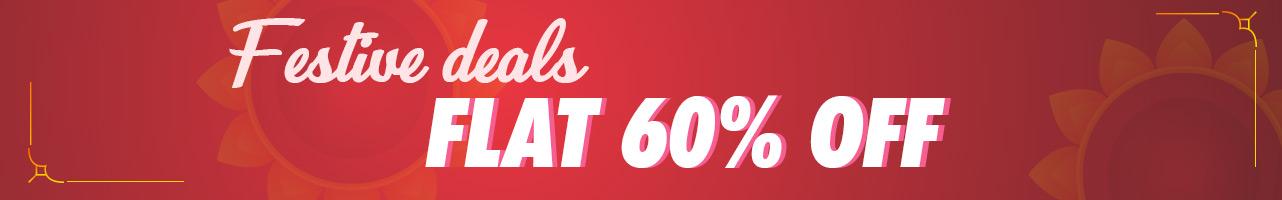Flat 60%Off
