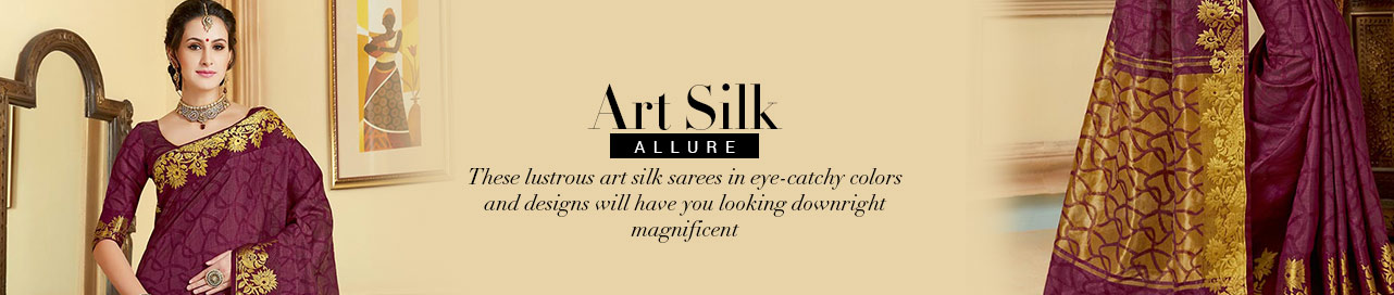 Art Silk Treasure