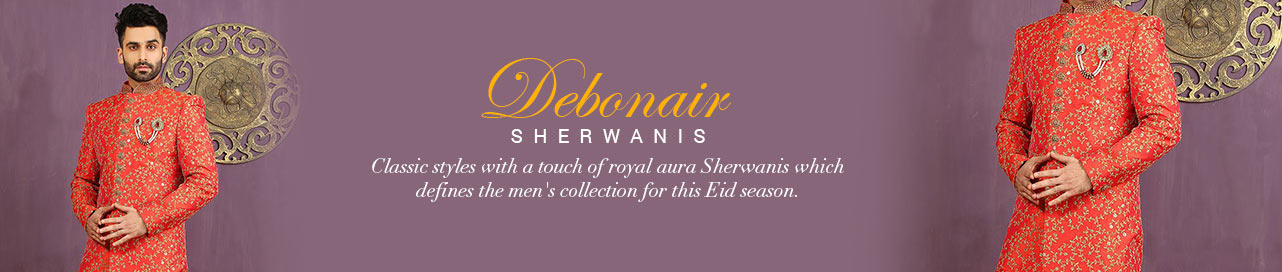 Regal Sherwanis