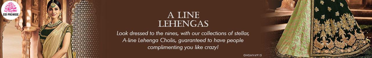A Line Lehengas