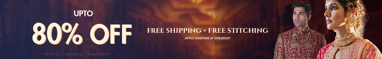 Buy 1 Get 1 Free + Site wide Free shipping and stitching