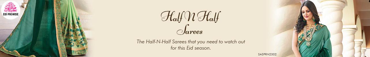 Half N Half Saree