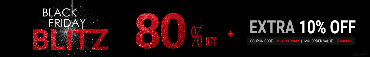 80% Off + Extra 10% Off
