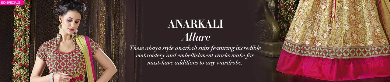 Abaya Anarkali Allure