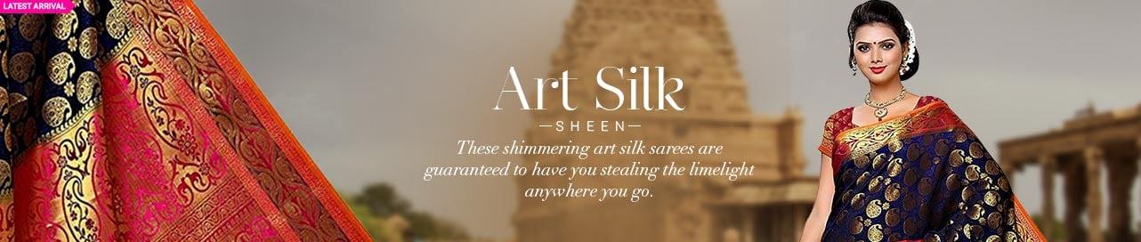 Art Silk Treasure