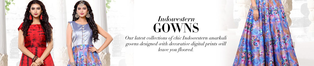 Indo Western Gowns