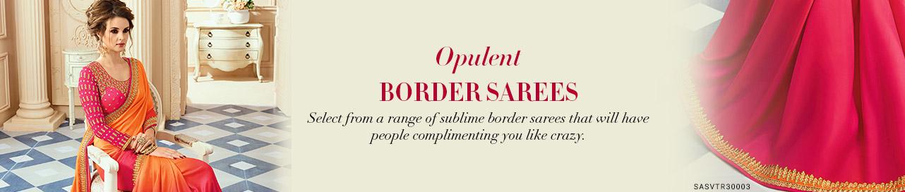 Border Saree