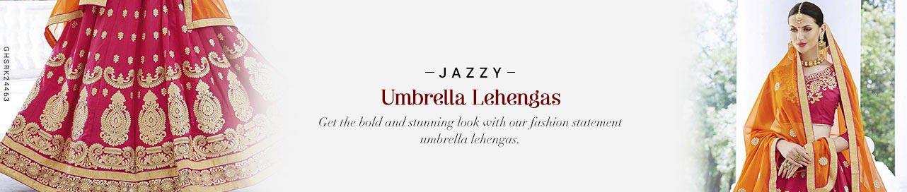 Ample Umbrella Lehenga