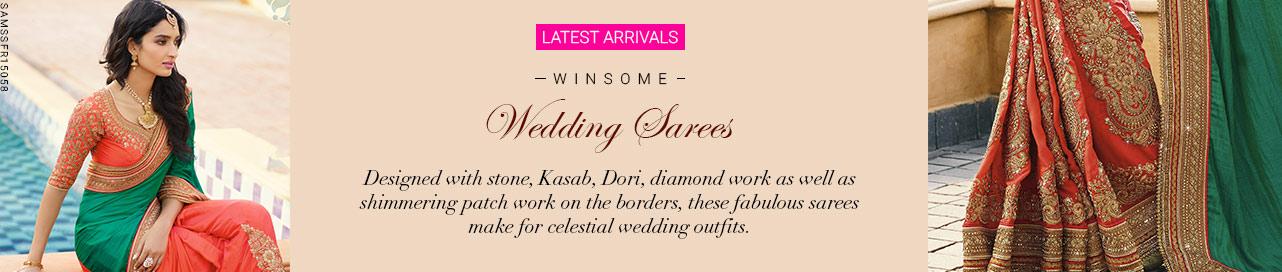 Laudable Wedding Sarees