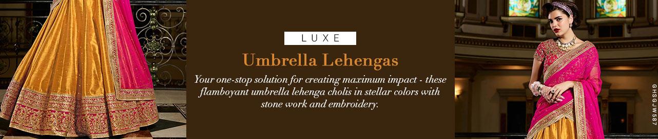 Umbrella Lehenga