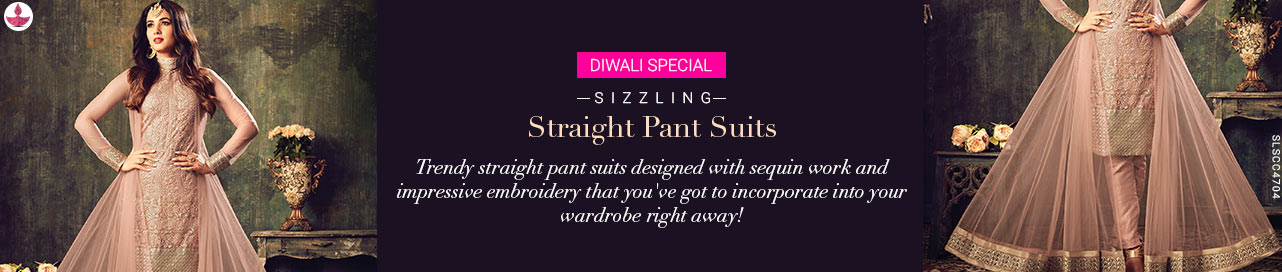 Straight Pant Suits