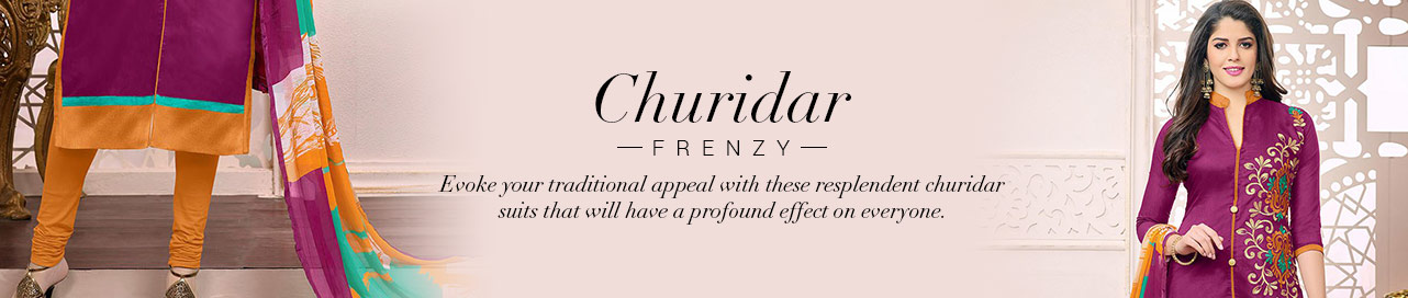 Exemplary Churidar Suits