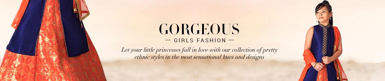 Buy Kids Wear Girls Dresses | Indian Kids Girls Clothes | Buy Kids ...
