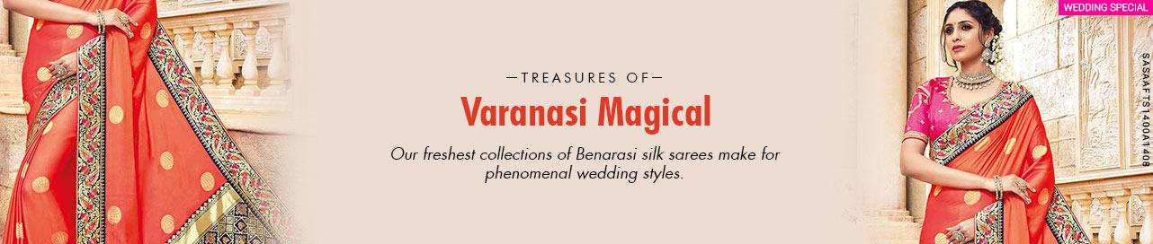 Treasure of Varanasi-Benarasi Sarees