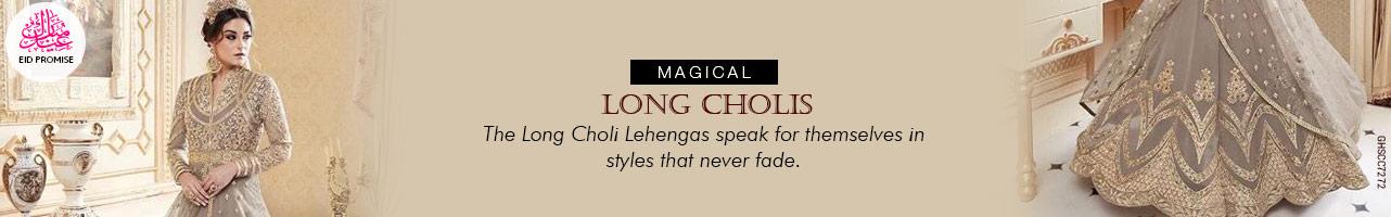 Long Choli Lehengas