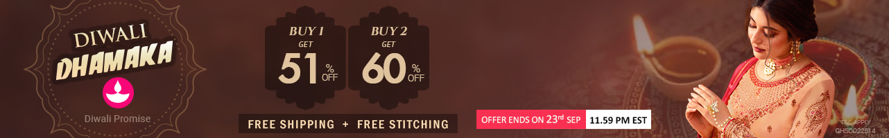 Buy 2 At 60% off + Free Shipping +Free Stitching