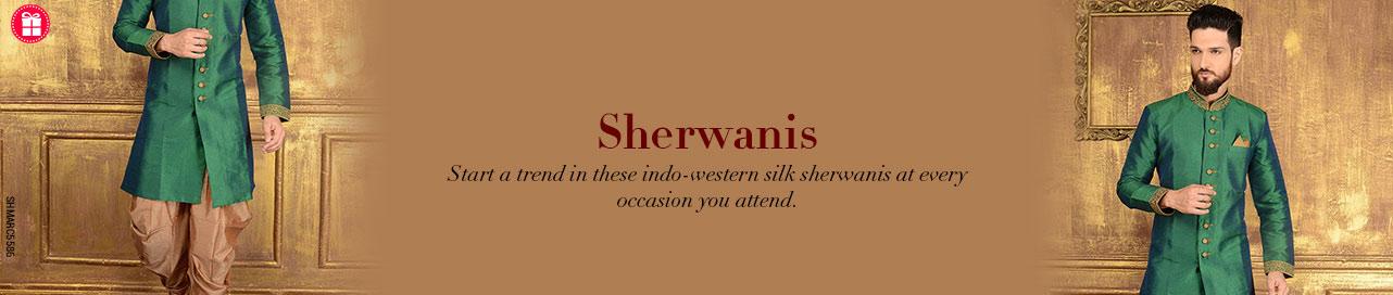 Regal Sherwanis