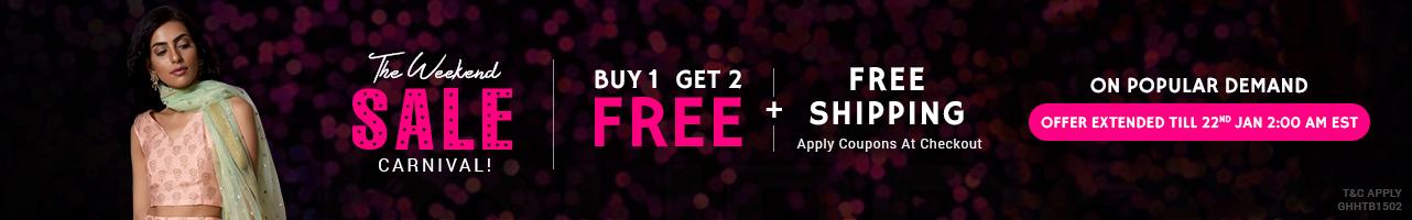 Buy 1 Get 2 Free