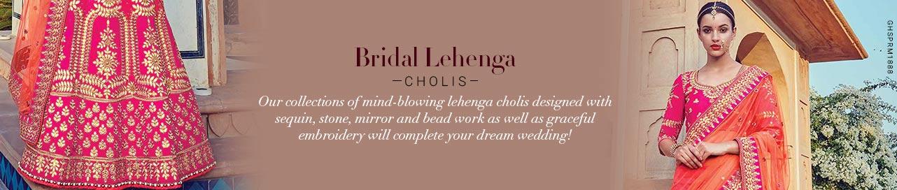 Exuberant Bridal Lehengas