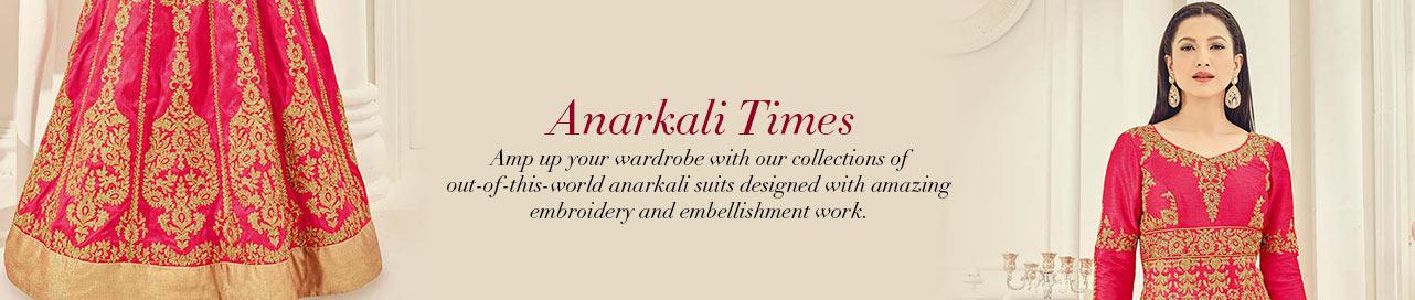 Alluring Anarkalis