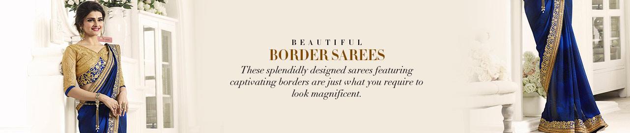 Beguiling Border Saree