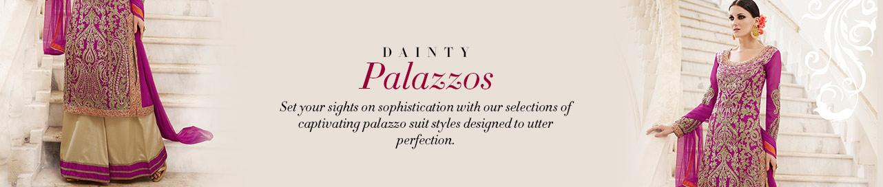 Brezzy Bejeweled Palazzos