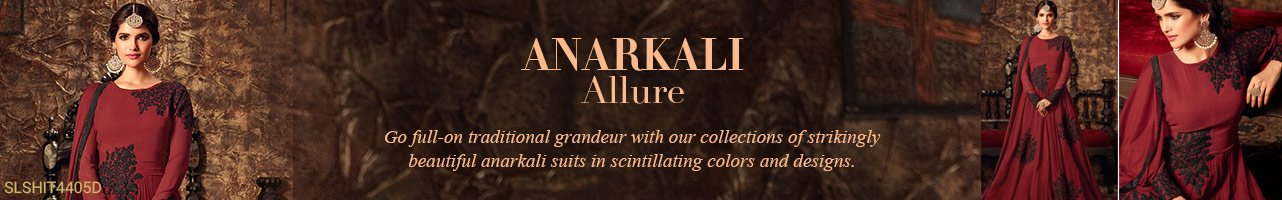 Anarkalis Suits