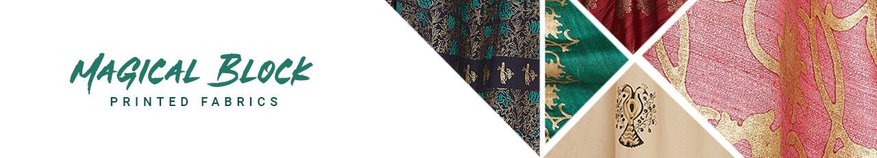 Magical Block Printed Fabrics