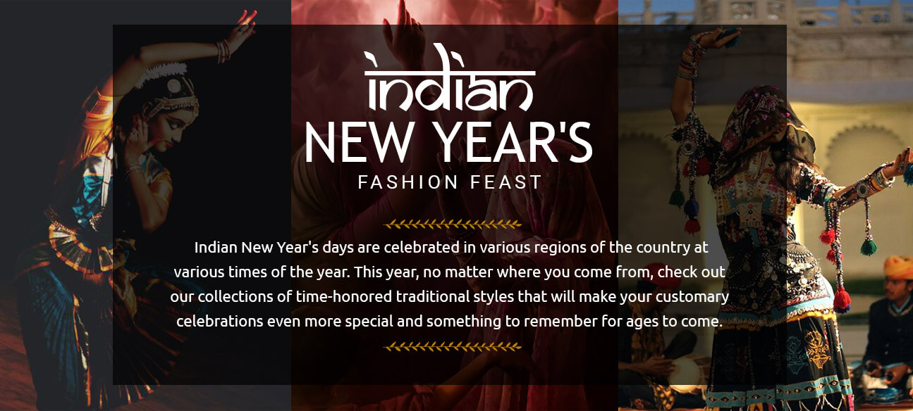 Indian New Years Fashion Feast